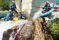 Rafting canyoning en pyr�n�es